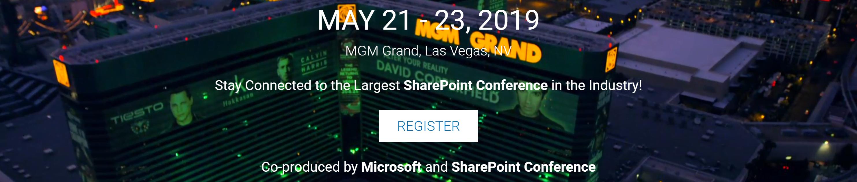 Rejoignez la communauté SharePoint Nord Américaine à Vegas!